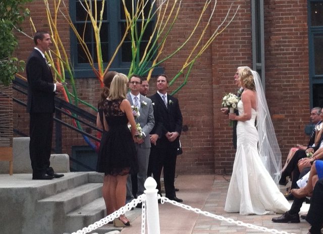 Joy Walking Down Aisle 2